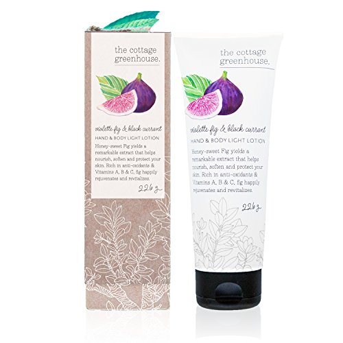 The Cottage Greenhouse Violette Fig & Black Currant Hand & Body Lotion