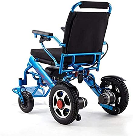 Yuzhonghua Discapacitados de Tipo Silla de Ruedas Scooter eléctrico portátil (Negro)