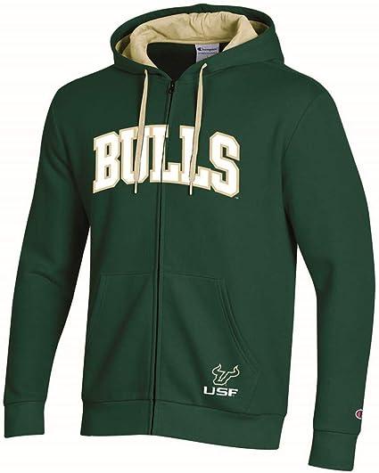 Colosseum Mens USF South Florida Bulls Full Zip Jacket