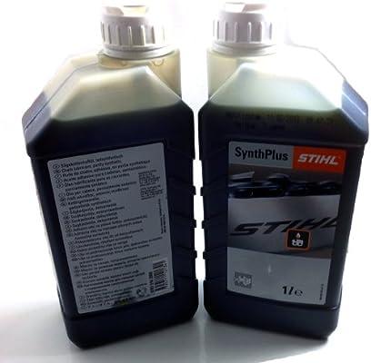 Stihl Synth Plus - Cadena para motosierra y aceite: Amazon.es: Coche y moto