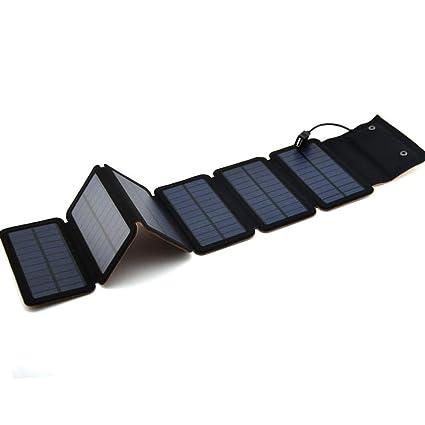 Zsgasybc Cargador Solar al Aire Libre de Carga Solar del ...