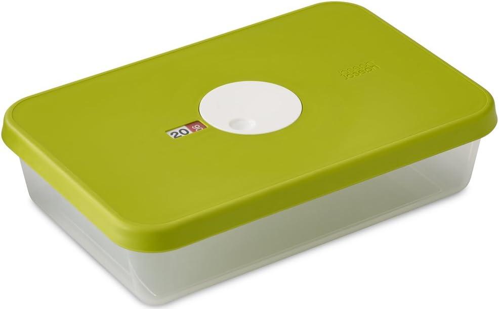 Joseph Joseph Dial Storage Rectangular Container with Datable Lid, 81.2 oz