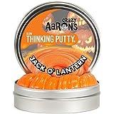 Crazy Aaron's Thinking Putty, 3.2 Ounce, Jack O' Lantern