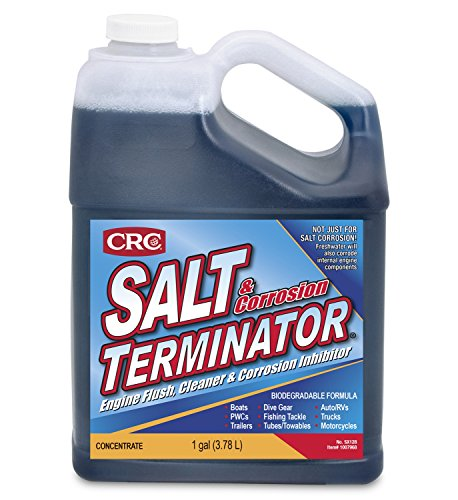 Saltwater Flush - CRC SX128 Salt Terminator Engine Flush, Cleaner and Corrosion Inhibitor - 1 Gallon