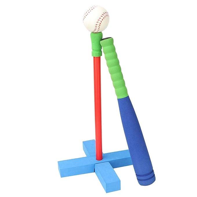 Amazon.com: Alomejor - Juego de béisbol de espuma en T para ...