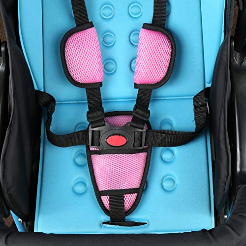 Baby Car Seat Strap Covers Suit By Accmor Stroller Belt Head Support Hip Shoulder Pads Gray Christmas