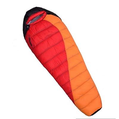 SHUIDAI Camping vers le bas de sacs de couchage , orange , 1500g
