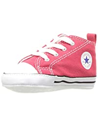 Converse First Star Crib Shoes - Red