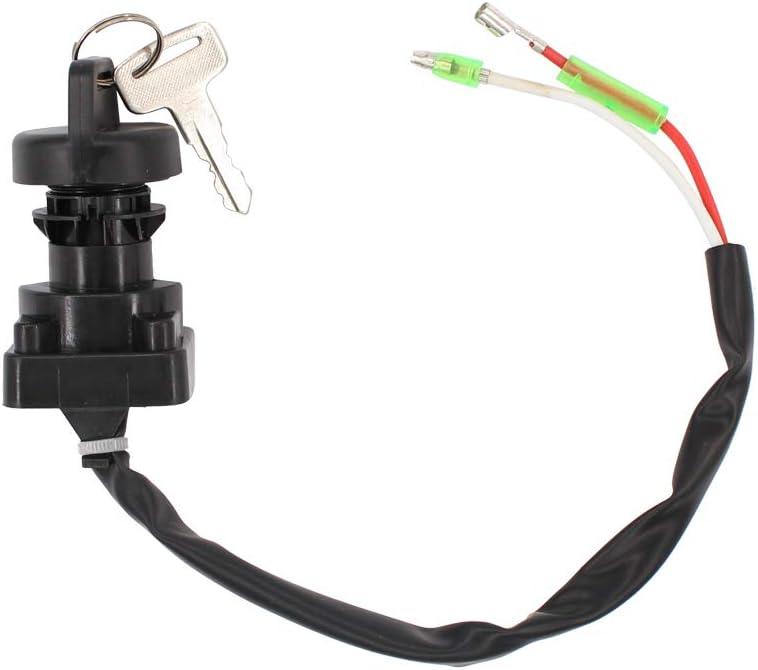 Ignition Key Switch for Kawasaki  KLF220 Bayou 220 1988 1989 1990 1991 1992-1995