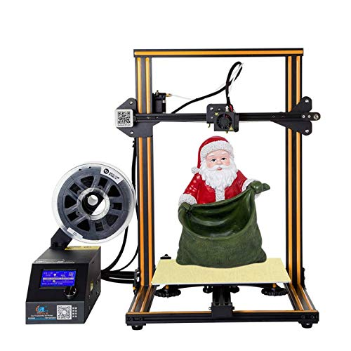 MKK Larger Volume Creality 3D CR-10 Printer, Stable FDM 3D Printer with Open Source, Flat Glass Bed, All Metal Frame…