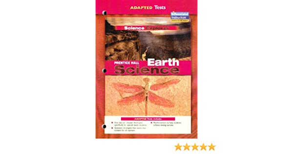 Adapted Tests Science Explorer Prentice Hall Earth Science