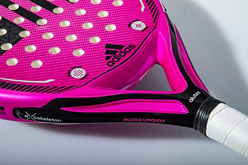 Amazon.com : adidas Supernova Woman 1.9 Pink/Black/Grey Advanced-Professional Padel Racket : Sports & Outdoors