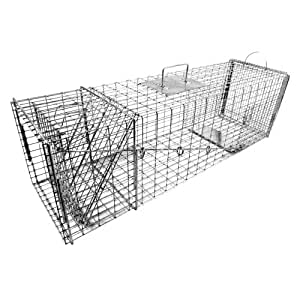 Tomahawk Original Series Rigid Trap with Easy Release Door for Large Raccoons and Woodchucks