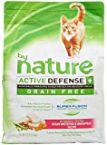 By Nature Active Defense Grain Free Cat Food - Ocean Whitefish And Green Peas - 4.8 Lb