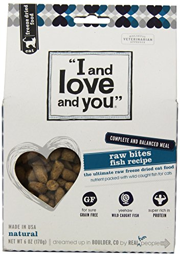 I And Love And You Cat Freeze Dried-Raw Fish Bites