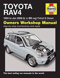 toyota rav4 1996 12 haynes repair manual paperback amazon co uk rh amazon co uk 2010 toyota rav4 owners manual pdf 2010 toyota rav4 repair manual download