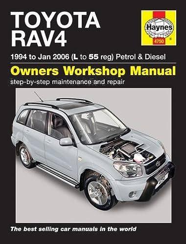 toyota rav4 service repair manuals amazon co uk bob henderson rh amazon co uk 2007 toyota rav4 repair manual pdf 2008 toyota rav4 service manual