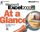 img - for MS Excel 2000 at a Glance (At a Glance (Microsoft)) book / textbook / text book