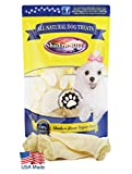 Shadow River Lamb Ear Chews for Dogs - Premium All Natural Treats - 8 Pack Large Full Size Ears