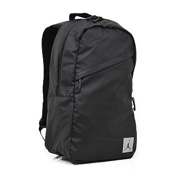 1f35bc4c5c6 Nike Jordan Jumpman Sac à Dos croisé pour Ordinateur Portable et Tablette  Noir avec Logo réfléchissant