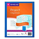 Smead Project Organizer, Letter Size, 10 Pockets, Navy (89200)