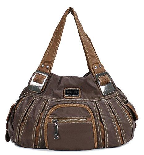 Scarleton Large Shoulder Bag H106604 - Brown