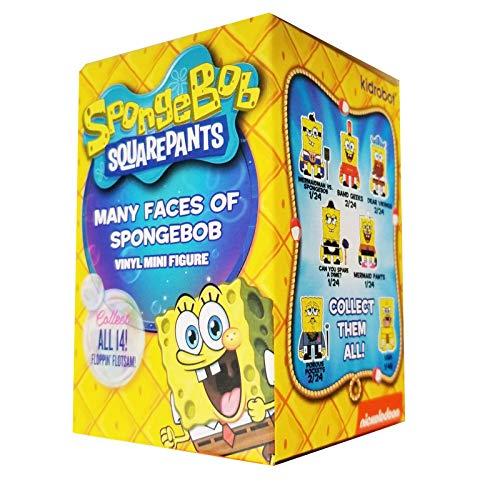 Kidrobot Spongebob Squarepants Many Faces Blind Box Figure