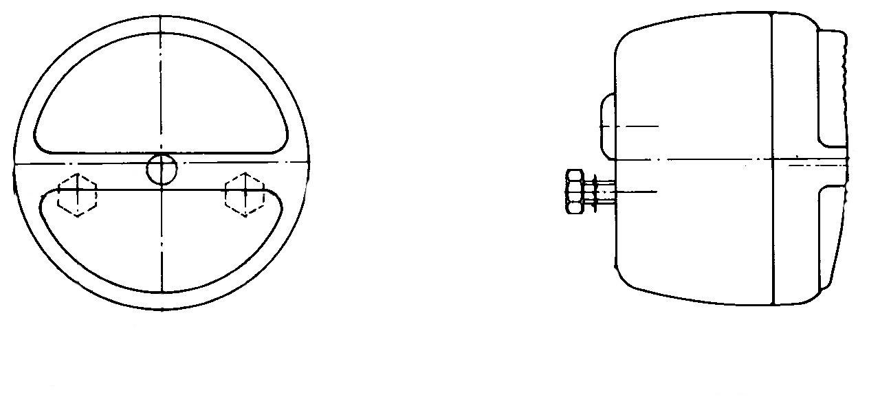 links rechts HELLA 2SB 003 018-031 Heckleuchte 12V