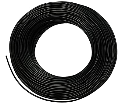 End-light Fiber Optic Cable with Black Cover 2mm Inner Diameter for Light Transmit in Home Decoration Outdoor Lighting