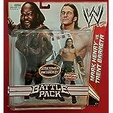 TRENT BARRETA & MARK HENRY - WWE BATTLE PACKS 17 WWE TOY WRESTLING ACTION FIGURE 2-PACKS