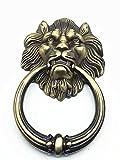 UniDecor Large Antique Bronze Lion Door Knocker