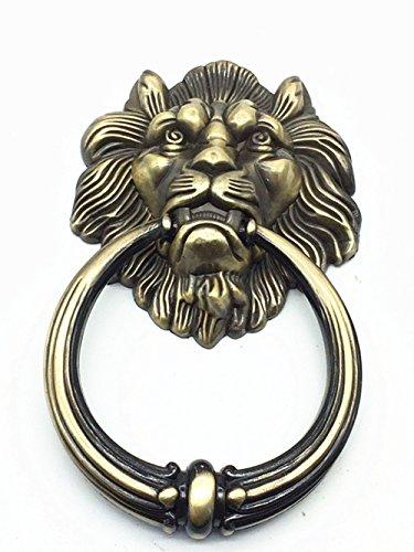 Unidecor large antique lion door knocker lion head door handle my cms - Large lion head door knocker ...