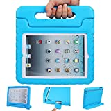iPad mini 4 case, ANTS TECH Light Weight [ Shockproof ] Cases Cover with Handle Stand for Kids Children for iPad mini 4 (iPad mini 4, Blue) by Ants tech