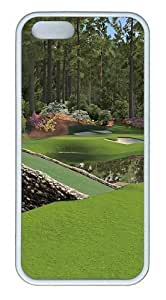 12th Augusta National TPU Silicone Rubber iPhone 5 and iPhone 5S Case Cover - White