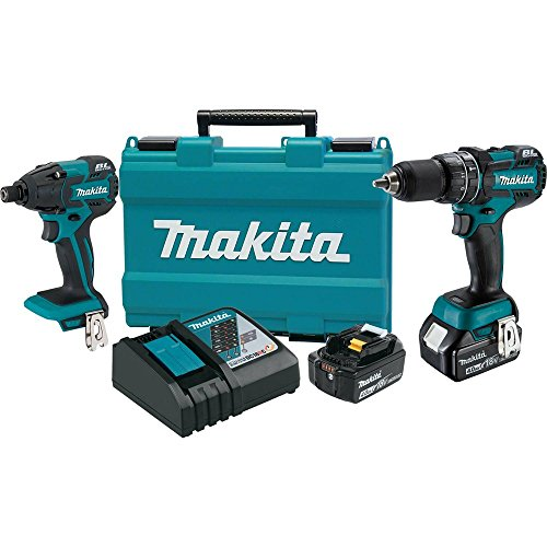 Makita XT248MB 18V LXT Lithium-Ion Brushless Cordless 2-Pc. Combo Kit (4.0Ah)- Discontinued by Manufacturer (Discontinued by Manufacturer)