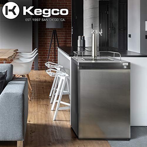 kegerator with two kegs - 6