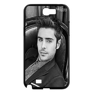 Samsung Galaxy Note 2 Cases Star Zac Efron, Zac Efron Cases Sexyass, {Black}
