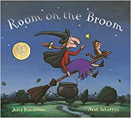 Room on the Broom: Amazon.co.uk: Donaldson, Julia, Scheffler, Axel ...