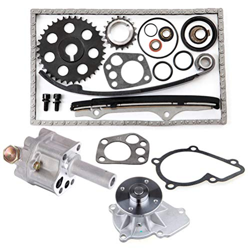 INEEDUP Oil Pump Water Pump Timing Chain Fit for 2012-2013 BMW 125i2012-2013 BMW 118i (Bmw 2 Litre Diesel Engine Timing Chain)