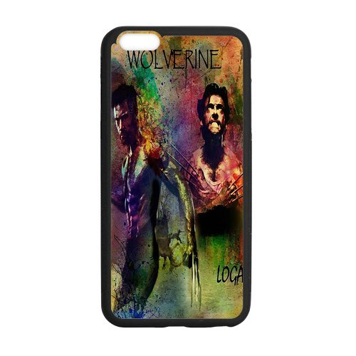 Wolverine Logan/Case Cover Black/ Device iPhone 7 (City Of Logan)