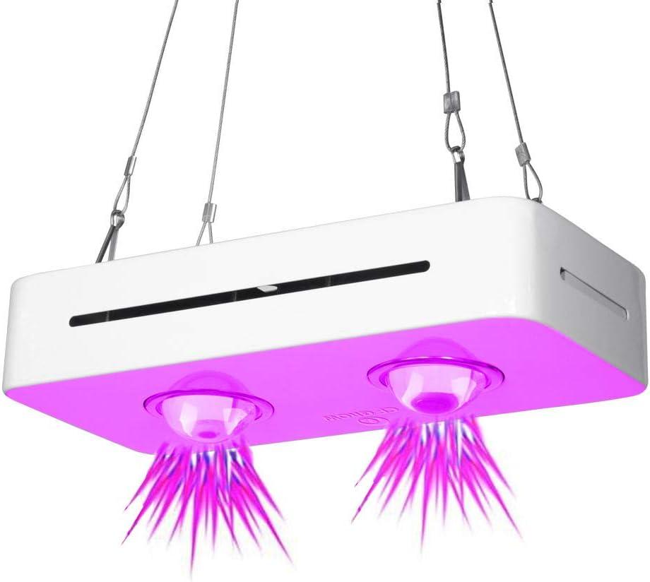 YOBENS NBM 150W300W COB LED Grow Light Full Spectrum para Cultivos hidropónicos de Interior Planta de Invernadero Lámpara de iluminación de Crecimiento de Todas Las etapas UFO Grow Lamp-EU-300W_110V