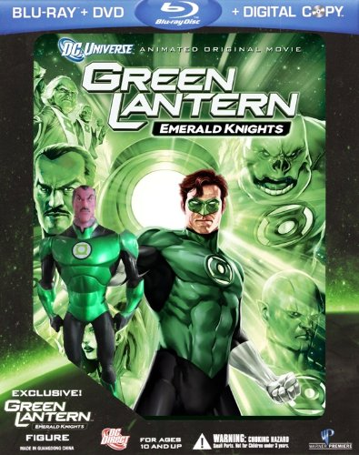 Green Lantern: Emerald Knights [Blu-ray]