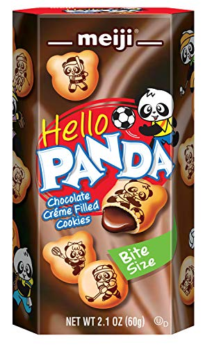 Meiji Hello Panda Cookie, Chocolate, 2.1 Ounce (Pack of 10)
