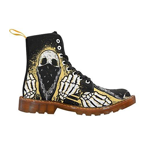 Skull Bird the For Women Lace Flips Boots Up InterestPrint Print d6qSCxdZ