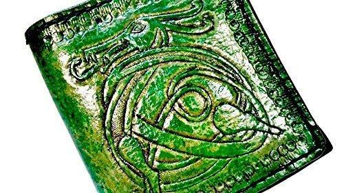 Handmade Leather Celtic Irish Knotwork Dragon (Celtic Knotwork Dragon)