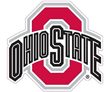Amazoncom Ohio State Buckeyes Car Magnet Decal Inch - Auto decals and magnets