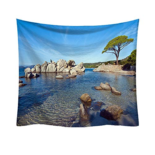 Clearance Sale!DEESEE(TM)Fashion Tapestry Ocean Pattern Fresh Style Decorative