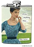 Anne Taintor Flask, Twice