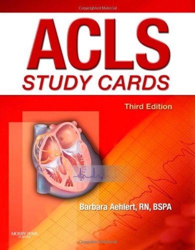 ACLS Study Cards, 3e