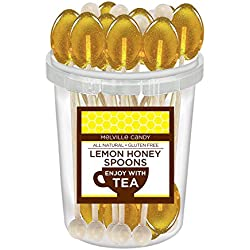 Lemon Honey Spoon Contains Real Honey (30 Count)